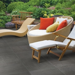 Archgres Mid-Grey Slate Terrace Design