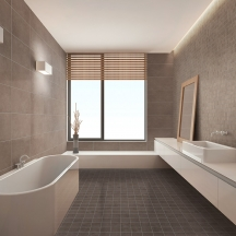 Betoncrete Colonial Bathroom Design