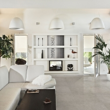Betonstone Fog Living Room Design