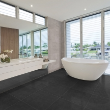 Betoncrete Industrial Bathroom Design