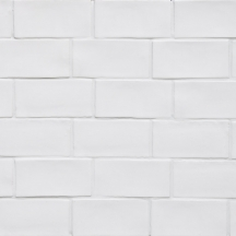 Betonbrick Wall White Matt 7.5x15