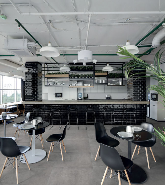 Betonbrick Black Scandinavian Design Bar