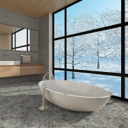 Betonbrick - Betonepoque Scandinavian Bathroom