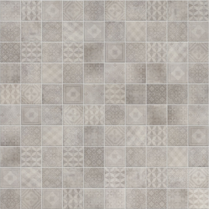 Betonsquare White-Grey Decor Mix 10x10