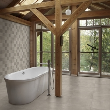 Betongreys Warm Bathroom Design