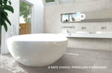A safe choice: porcelain stoneware