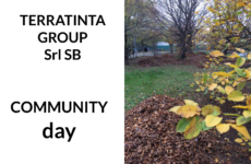 For its first Community Day, Terratinta Group takes care of a public park in Fiorano Modenese